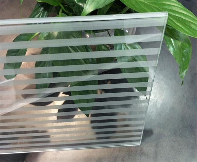 Silk screen glass